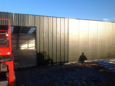 New build at Dig It Projects